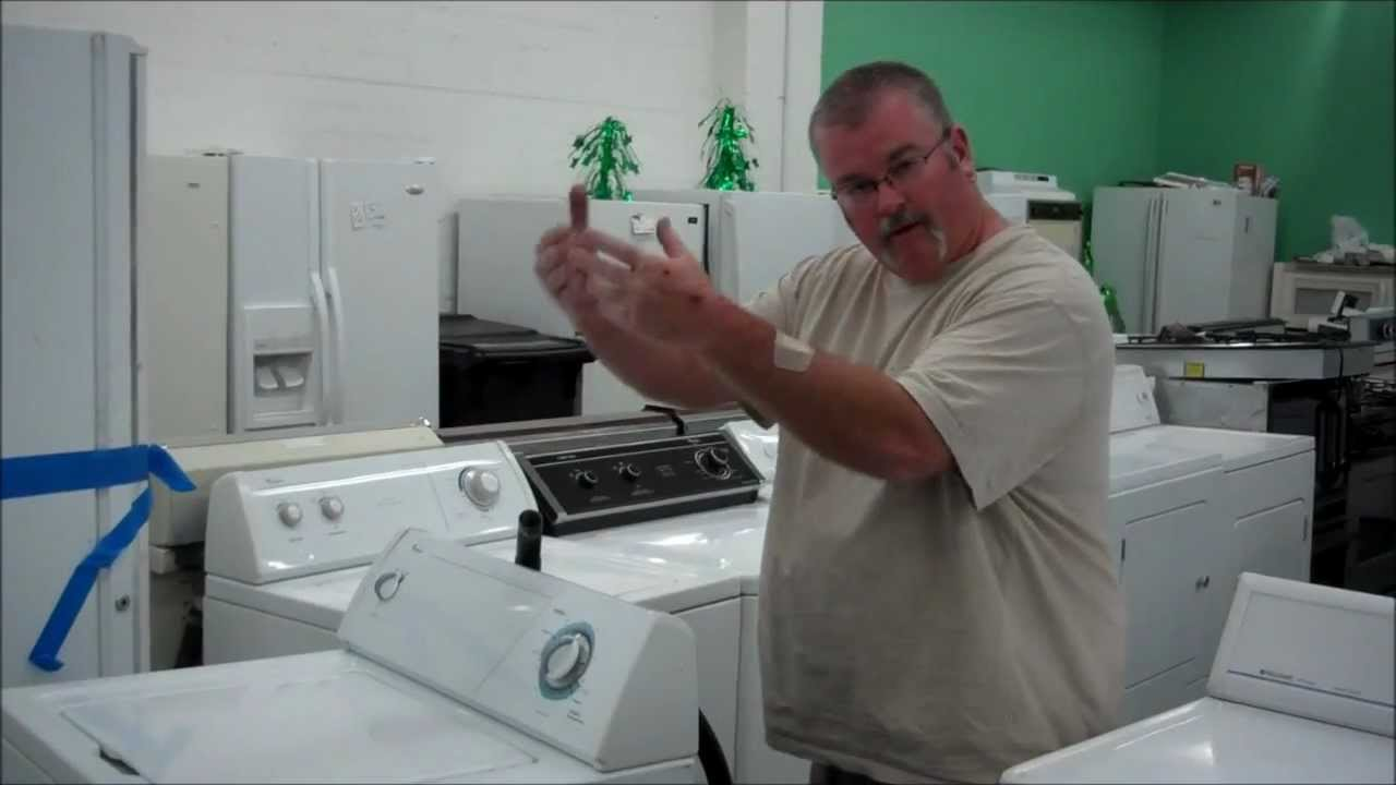 How to get the water out of your washing machine when it for Ge washer motor reset