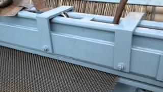 Autometic Crimping mesh or loom making machine.