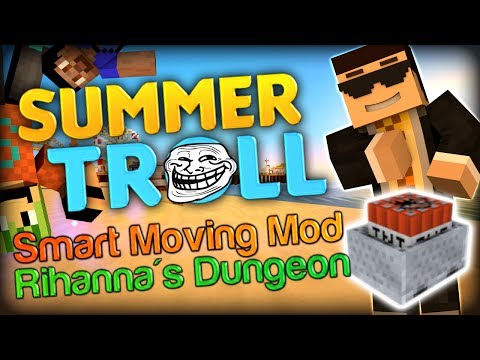 Minecart Summer Trolling Minecraft Smart Moving Mod Map w Simon and Vikkstar