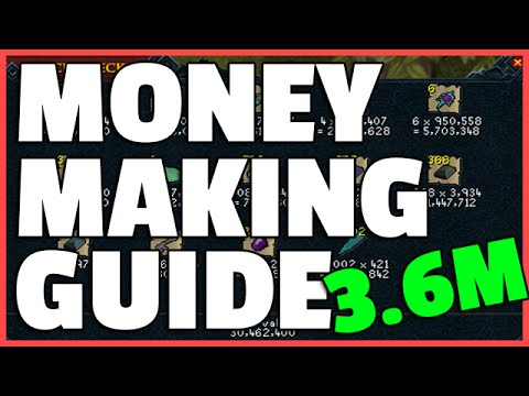 Runescape: RS3 Money Making Guide – 3.6M+ Per Hour!