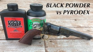 Black Powder vs. Pyrodex