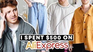 $500 ALIEXPRESS CLOTHING TRY-ON HAUL + REVIEW!!!