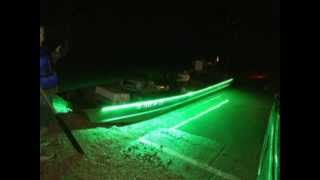 Fish light attractor how to attract bait fish with a for Fishing light attractor