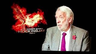 Donald Sutherland reveals some dark secrets