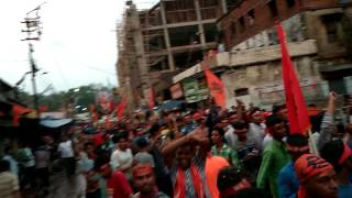 Bankura' s Ram navami rally.....