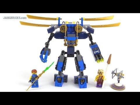 LEGO Ninjago 2015 Jay's ElectroMech review! set 70754