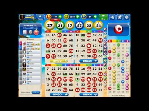 Yahoo Games: Super Bingo Play: Tropic Island. [HD]