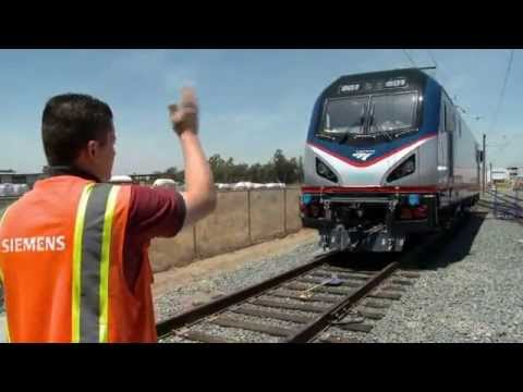 Siemens Provides First Look at New Amtrak ACS-64 Cities Sprinter Locomotives For Northeast Corridor