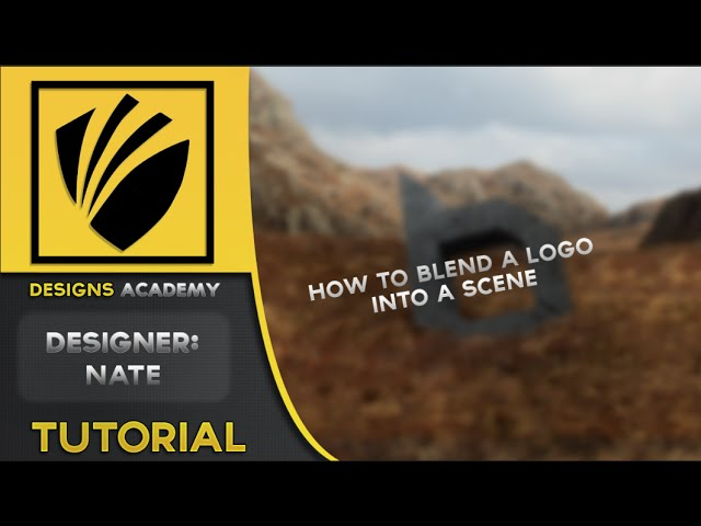 How To Blend A Logo Into A Landscape! (Manipulation Techniques) w/ Nate