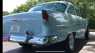 Test Drive 1955 Bel Air Post $39,900 Maple Motors