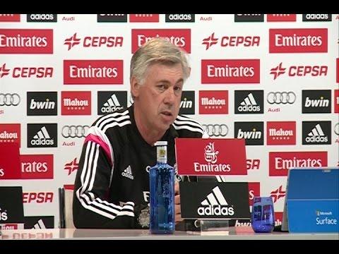 Ancelotti sobre la fiesta de Cristiano Ronaldo
