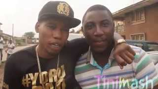Behind the scene Qdot and Olamide