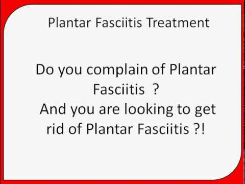 Plantar Fasciitis Treatment | how to cure plantar fasciitis