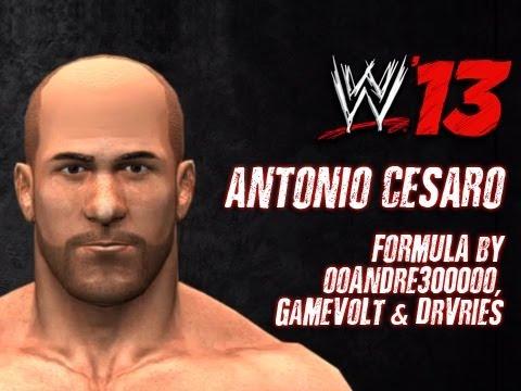 WWE '13 Antonio Cesaro CAW Formula by ooAndre3000oo. GaMeVoLt & DrVries
