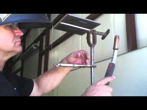 Mig Welding Tips-4g Mig Overhead Plate Test