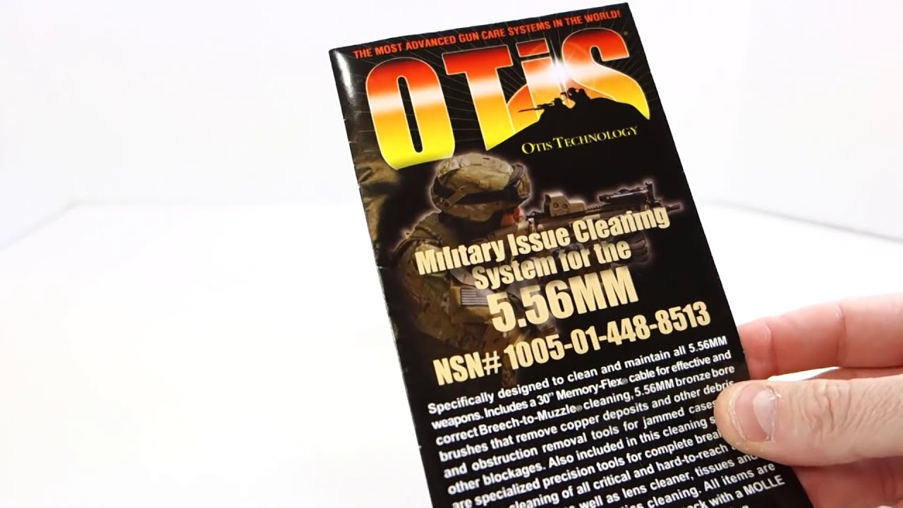 Otis Technology 5 56 Mm Ar15 Military Issue Cleaning