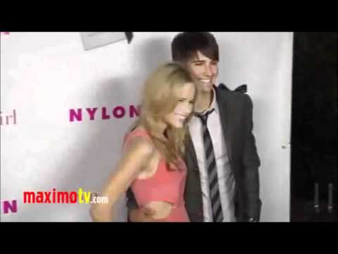 James Maslow & Halston Sage