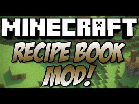 Minecraft: How To Install Recipe Book Mod 1.4.2