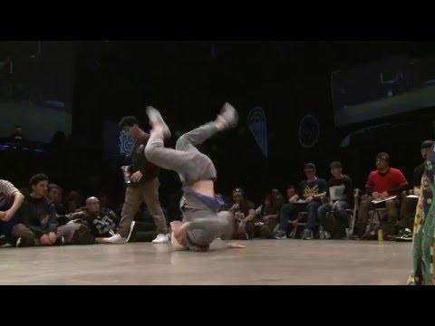 1/8 finale 1vs1 BBOY : Lil Zoo (MAR) vs Fenix (FRA)