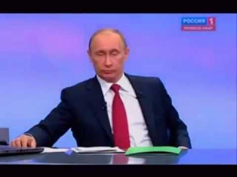Путин пукнул в прямом ефире