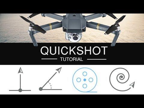 DJI MAVIC PRO QUICKSHOT TUTORIAL | HOW TO DRONIE | ROCKET | HELIX - Android Version