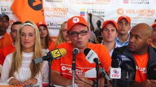 Lilian Tintori recibió a Salvatore Lucchese en Voluntad Popular
