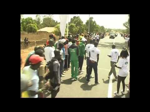 Bajana Marathon 10K - The Gambia