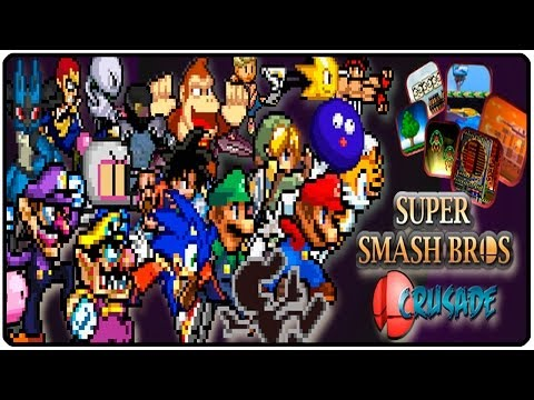 SUPER SMASH BROS PC CON ONLINE Y GRATUITO | CRUSADE
