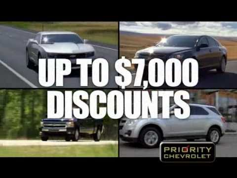 President's Day Sales Event | Priority Chevrolet in Hampton Roads