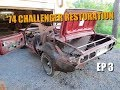 74 Dodge Challenger Restoration #3 - Stripping the Car