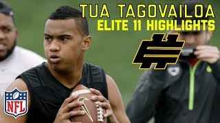 Tua Tagovailoa (Alabama QB) Elite 11 Highlights | NFL Network