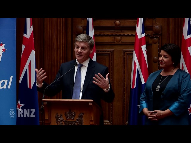 Bill English is New Zealands new PM