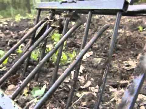 Лопата Крот для взрыхления