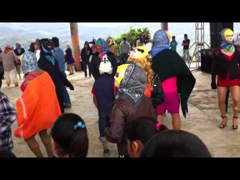 El carnaval 2014 de san gregorio huehuetla hidalgo