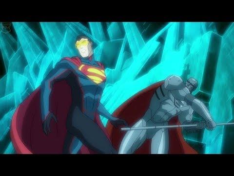 The Eradicator Vs Steel | Reign Of The Supermen