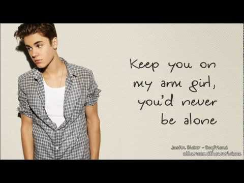 Justin Bieber - Boyfriend (lyrics) video