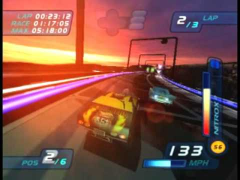 PS2 - Hot Wheels World Race - Gameplay