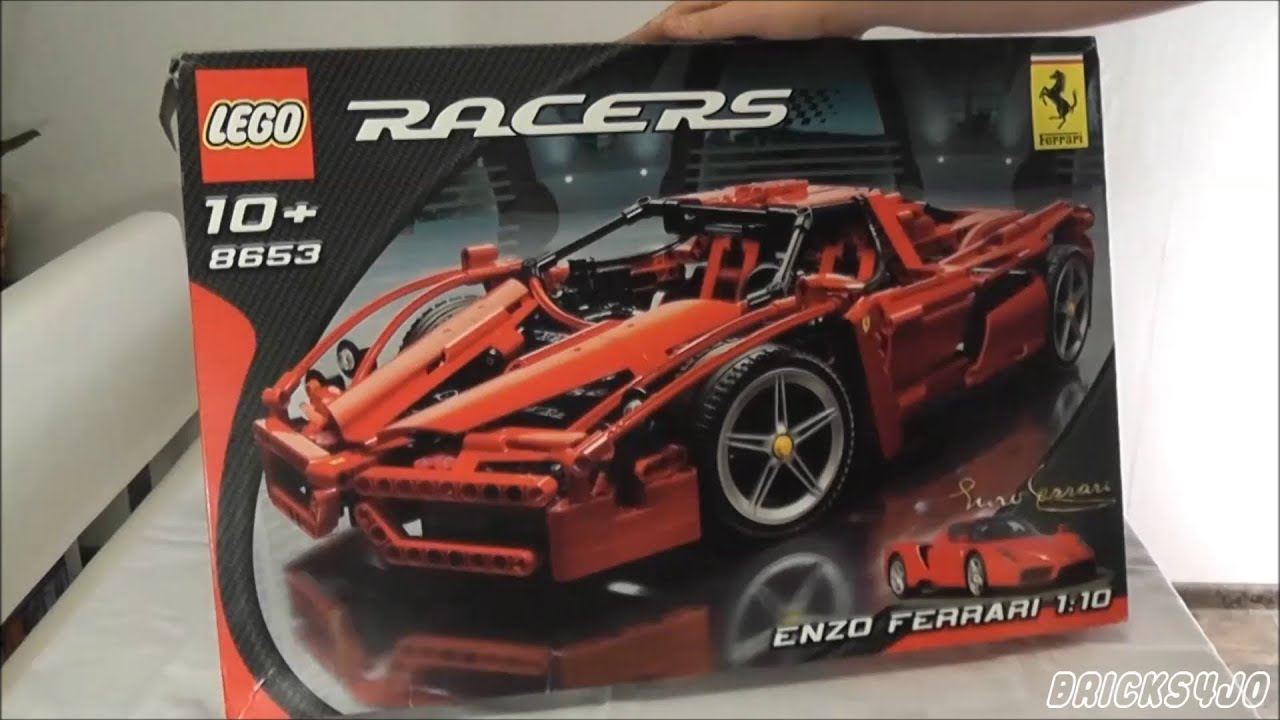 Lego 8653 Racers Ferrari Enzo Ferrari Review Deutsch