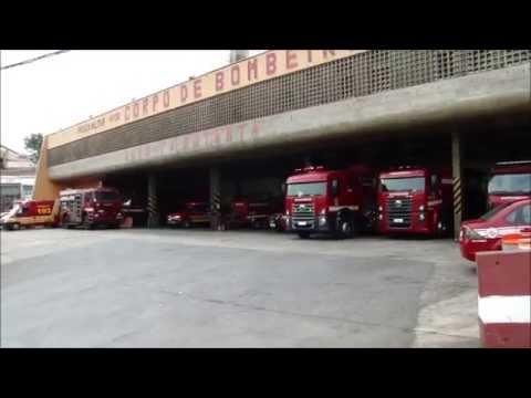 Guarnições do PB Butantã acionadas para tentativa de suicídio - Bombeiros de São Paulo
