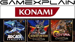 Konami 50th Anniv. Collections Announced! Castlevania, Contra, & Arcade Classics Coming to Switch