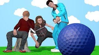 3 idiots play Virtual Mini Golf