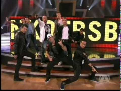 """NKOTBSB -Dancing With The Stars-  intro and """"Don't Turn Out The Lights"""""""