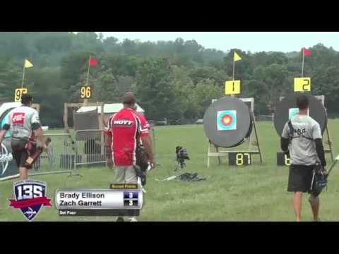 2014 U.S. Open: Brady Ellison Meets Zach Garrett!