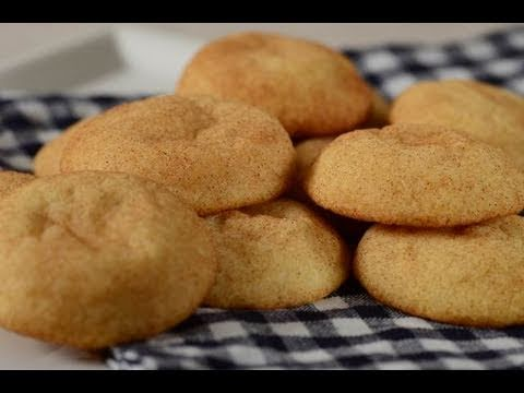Snickerdoodles Recipe Demonstration - Joyofbaking.com - YouTube