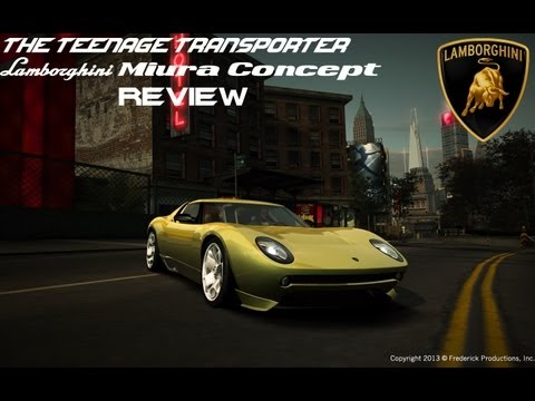 Need For Speed World: Lamborghini Miura Concept