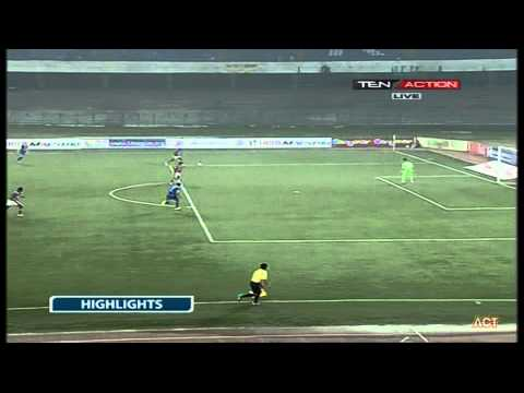 Hero I-League 2015 Mcdowell Mohun Bagan (4) vs Bengaluru FC (1) 20-2-2015