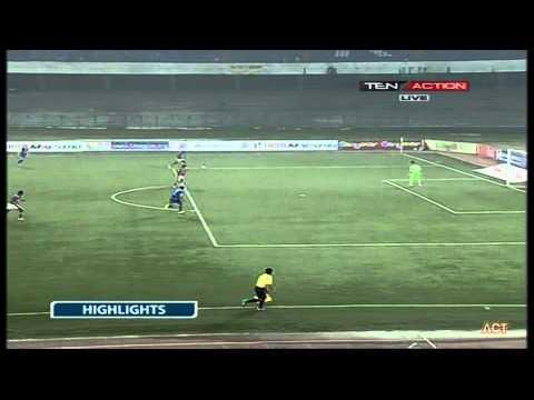 Hero I-League 2015 Mcdowell Mohun Bagan (4) vs Bengaluru FC (1) 20-2-2015