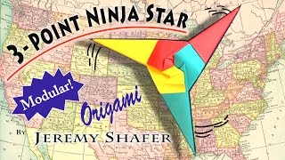 Three Point Ninja Star