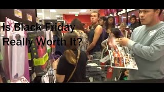 Black Friday 2014 Crowd Madness at Target