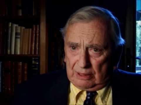 Gore Vidal 9/11, war, etc. Part 1